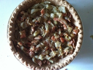 simple onion tart